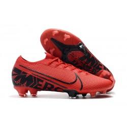 Buty piłkarskie Nike Mercurial Vapor XIII Elite FG Czarny Czerwony