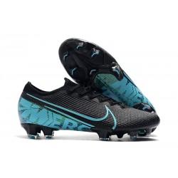 Buty piłkarskie Nike Mercurial Vapor XIII Elite FG Czarny Niebieski