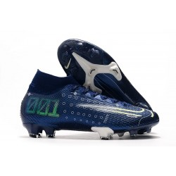 Buty Nike Dream Speed Mercurial Superfly 7 Elite DF FG - Niebieski