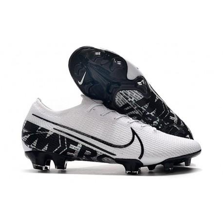Nike Mercurial Vapor 13 Elite FG Korki Pilkarskie Biały Czarny