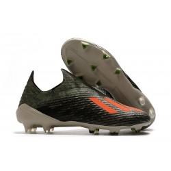 Buty Piłkarskie adidas X 19+ FG Zielony/Pomarańczowy/Kremowy