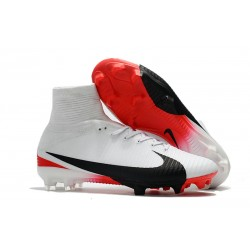 Buty Piłkarskie Nike Mercurial Superfly V FG Bianco