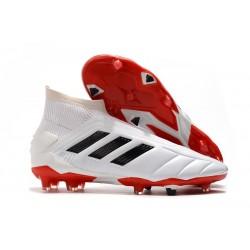 adidas Buty Piłkarskie Predator 19+ FG -Biały