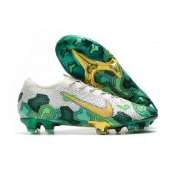 Nike Mercurial Vapor 13 Elite FG Mbappe Wilczy Zielony Złoto