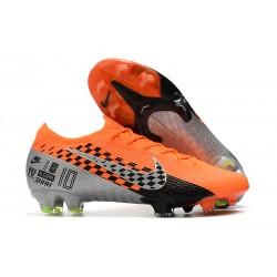 Nike Mercurial Vapor 13 Elite FG Korki Pilkarskie Pomarańczowy Chrom Czarny