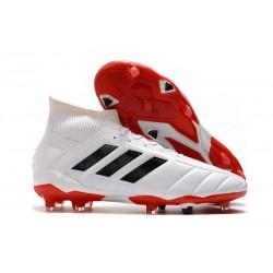 Buty piłkarskie adidas Predator 19.1 FG -Biały