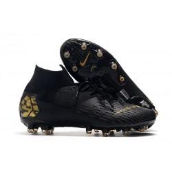 Buty piłkarskie Nike Mercurial Superfly VII Elite AG-PRO Czarny Złoto
