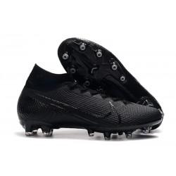 Buty piłkarskie Nike Mercurial Superfly VII Elite AG-PRO Czarny