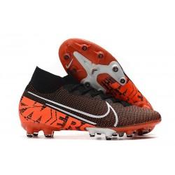 Buty piłkarskie Nike Mercurial Superfly VII Elite AG-PRO Czarny Pomarańczowy