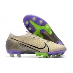 Buty piłkarskie Nike Mercurial Vapor 13 Elite AG-Pro kremowy czarny fioletowy