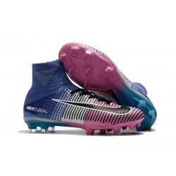 Nike Mercurial Superfly 5 FG Korki Pilkarskie - Niebieski Różowy