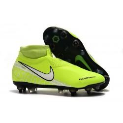 Nike Phantom VSN Elite DF SG-Pro AC Żółty Biały Barely Fluorescencyjny