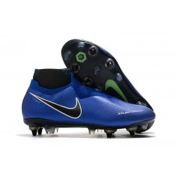 Buty Nike Phantom VSN Elite DF SG-Pro AC Niebieski Srebrny Biały