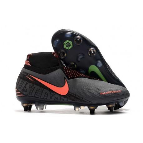 Buty Nike Phantom VSN Elite DF SG-Pro AC Szary Pomarańczowy Czarny
