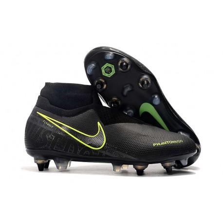 Nike Phantom VSN Elite DF SG-Pro AC Czarny Fluorescencyjny Żółty