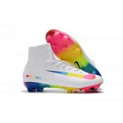 Nike Mercurial Superfly 5 FG Korki Pilkarskie - Biały Kolorowy