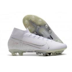 Buty piłkarskie Nike Mercurial Superfly VII Elite AG-PRO Biały Chrom