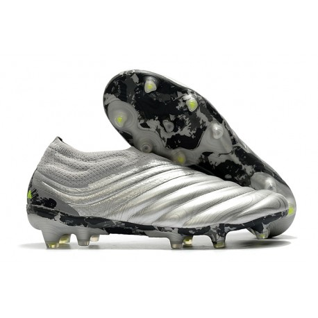 Buty adidas Copa 20+ FG - Srebrny Żółty