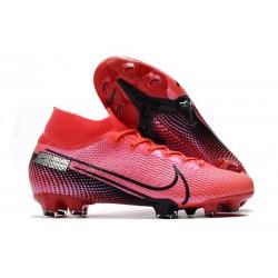 Nike Korki Pilkarskie Mercurial Superfly VII Elite SE FG -Czerwony Czarny