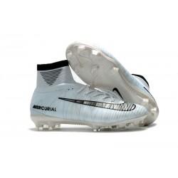 Nike Mercurial Superfly 5 FG Korki Pilkarskie - CR7 Biały Czarny