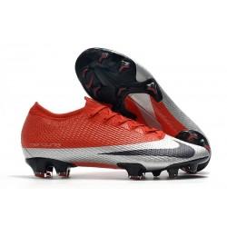 Nike Future DNA Mercurial Vapor XIII 360 Elite FG Czerwony Srebro Czarny