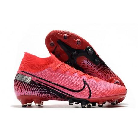 Buty piłkarskie Nike Mercurial Superfly VII Elite AG-PRO Czerwony Czarny
