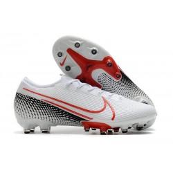 Buty Nike Mercurial Vapor 13 Elite AG-Pro Biały Czerwony Czarny