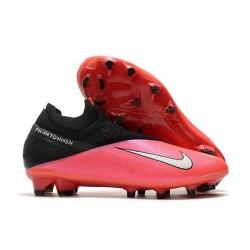 Buty Piłkarskie Nike Phantom VSN 2 Elite DF FG Czerwony Srebrny Czarny