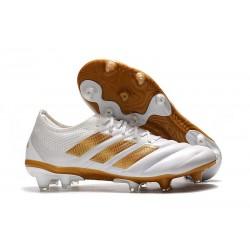 adidas Copa 19.1 FG Buty Piłkarskie Biały Złoty Metalik