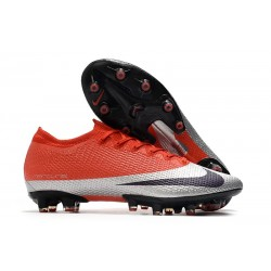 Buty piłkarskie Nike Mercurial Vapor 13 Elite AG-Pro Czerwony Srebro Czarny