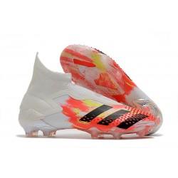 Korki piłkarskie Adidas Predator Mutator 20+ FG Biały Czarny Pop