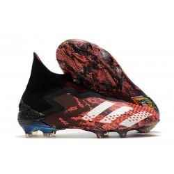 Korki piłkarskie Adidas Predator Mutator 20+ FG Czarny Biały Czerwony