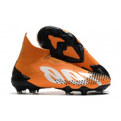 Korki piłkarskie Adidas Predator Mutator 20+ FG Pomarańczowy Biały