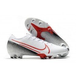Nike Mercurial Vapor XIII 360 Elite FG Biały Czerwony Czarny