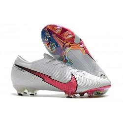 Buty Piłkarskie Nike Mercurial Vapor 13 Elite FG Biały Czerwony