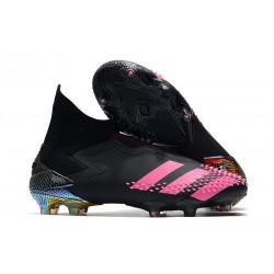 Adidas Buty Predator Mutator 20+ FG - Czarny Różowy