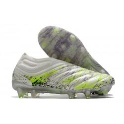 Buty adidas Copa 20+ FG - Biały Czarny Zielony