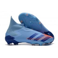 Adidas Buty Predator Mutator 20+ FG - Niebieski Pomarańczowy