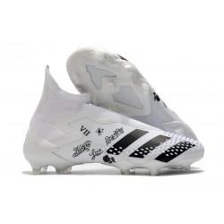 Adidas Buty Predator Mutator 20+ FG - Biały Czarny