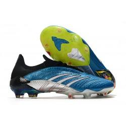 Buty Piłkarskie adidas Predator Archive FG -Niebieski Biały Czerwony