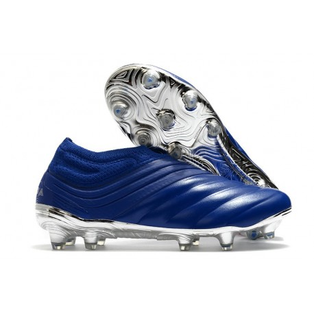 Buty adidas Copa 20+ FG - Niebieski Srebro