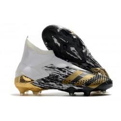 Adidas Buty Predator Mutator 20+ FG - Biały Czarny Złoto