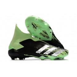 Adidas Buty Predator Mutator 20+ FG - Czarny Zielony Biały