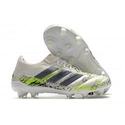 Korki Pilkarskie adidas Copa 20.1 FG Biały Czarny Zielony