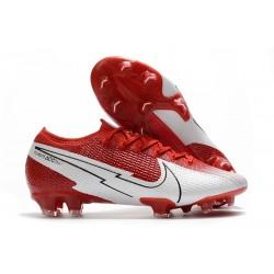 Nike Buty Mercurial Vapor XIII 360 Elite FG Czerwony Biały