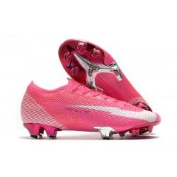 Nike Buty Mercurial Vapor XIII 360 Elite FG x Mbappé Różowy Biały Czarny