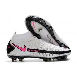 Buty Nike Phantom GT Elite Dynamic Fit FG - Biały Różowy Czarny