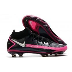 Buty Nike Phantom GT Elite Dynamic Fit FG -Czarny Srebrny Różowy