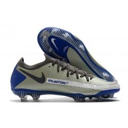 Buty Piłkarskie Nike Phantom GT Elite FG Niebieski Wilczy Czarny