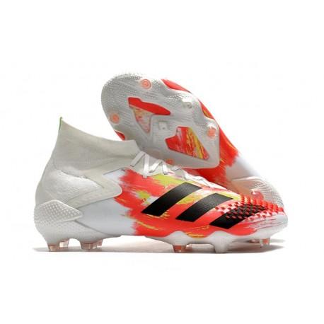 Buty piłkarskie adidas Predator Mutator 20.1 FG Biały Czarny Pop